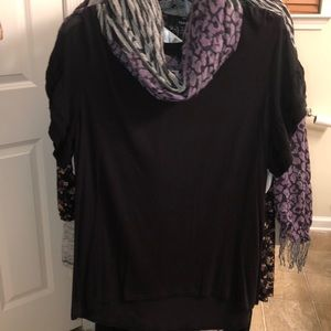Women's size xl (16-18) Time&Tru blouse NWOT